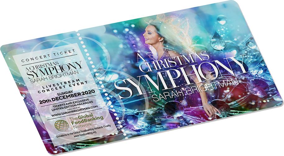 A Christmas Symphony Ticket