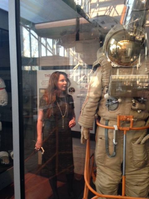 Sarah at the Smithsonian NASM in Washington, DC (May 2014)